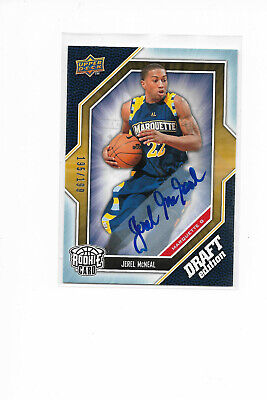 Jerel Mcneal 2009-10 Upper Deck Draft Edition Rookie Autograph /199