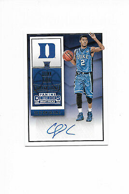 Quinn Cook 2015-16 Contenders Rookie Draft Picks Autograph