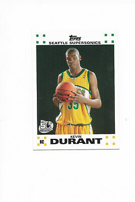 Kevin Durant 2007-08Topps Rookie Card