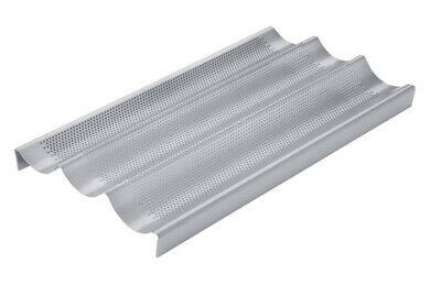 NEW Chicago Metallic Coated Baguette Pan 3 Stick