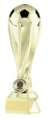 LazerMade Gold Football Tower Trophies Awards 4 sizes FREE Engraving