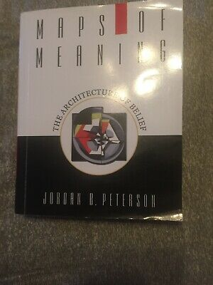 Maps of Meanings by Jordan B. Peterson  SIGNED BY THE AUTHOR