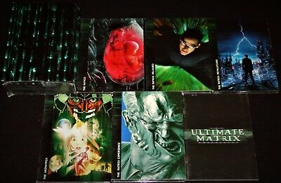 The Matrix 1-4 Ultimate Complete Series Collection 10 Dvd Disc Boxed Set Reeves