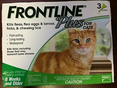 FRONTLINE --FleaTreatment For Cats