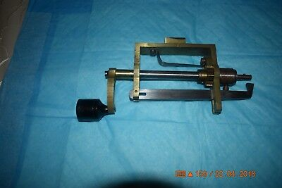 "Vintage Clockmakers HR France Clock Mainspring Winder 8"" Long for project"