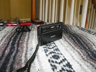 New/Display Black Touchscreen Sony Cyber-shot DSC-TX100V 16.2MP Digital Camera