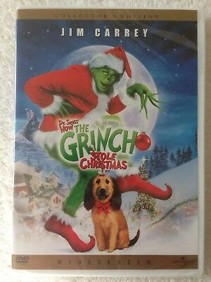 How The Grinch Stole Christmas. (DVD, WS, 2001) A HOLIDAY CLASSIC! SEALED!