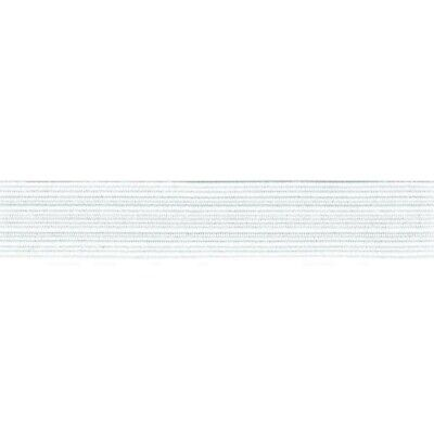 Elastic - Braided - White - 1 Metre X 20Mm - New