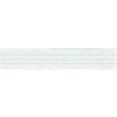 Elastic - Braided - White - 1 Metre X 8Mm - New