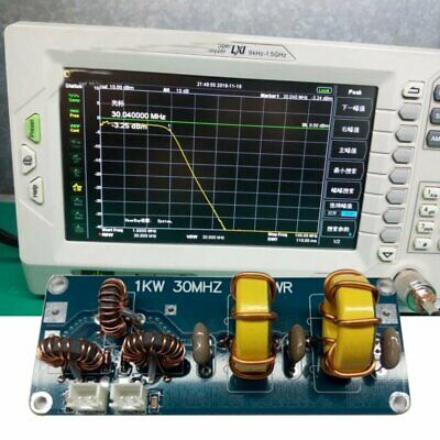 @~ Professional Small 1KW 30MHZ LPF SWR short wave low pass HF LPF standing wave