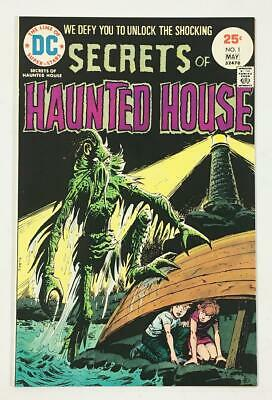 DC Secrets of Haunted House #1 Comic in 9.0 VF/NM Condition - Bronze Age Horror!
