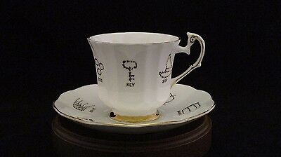 Red Rose Tea Cup of Fortune by Taylor & Kent Cup & Saucer Set #3 Made in England