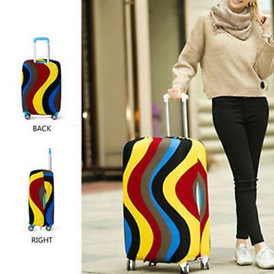 HK- Elastic Luggage Suitcase Cover Dust-Proof Protector Protective Bag 18-28 inc