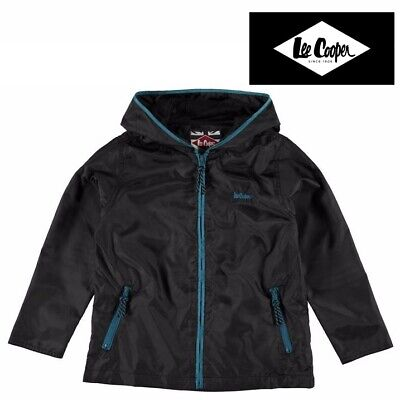 LEE COOPER Windcheater Windbreaker Rain Jacket Coat UNISEX Girls Boys Sizes 7-13