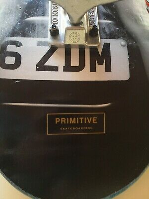 primitive skateboard. Made custom in store. Used once or twice.