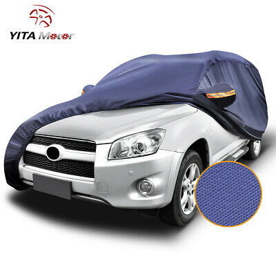 Full Car Cover Waterproof Outdoor&Indoor All Weather Protection Breathable SUV