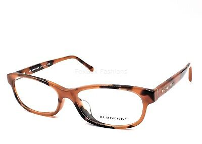 c56999a0c5a6 BURBERRY 2202 3518 Eyeglasses Frames Glasses Spotted Amber ~ 52mm ...