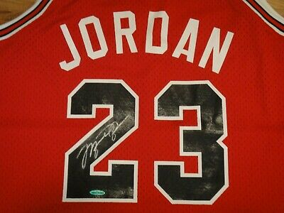 9157cd0671a Michael Jordan Upper Deck Authenticated Uda Signed Rookie Jersey Autographed