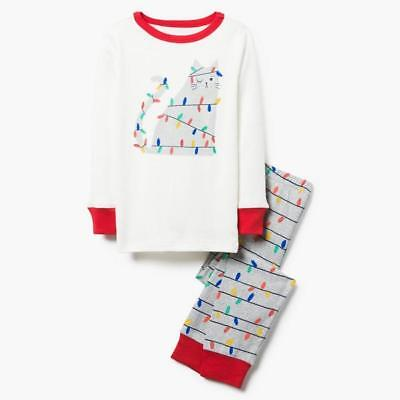 NWT Gymboree Cats Rule Shortie Gymmies Sleep Set Pajamas Kitty Cat PJ Girls 8