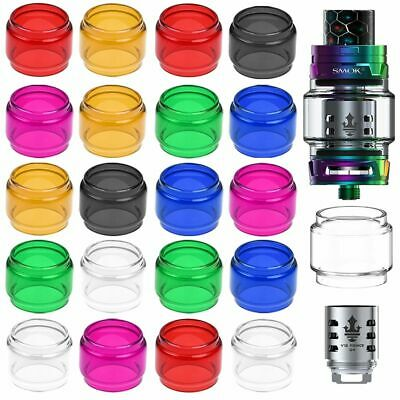 3Pcs SMOK Prince TFV8 TFV12 Tank Glass Fatboy Bubble Extended Replacement