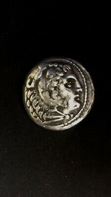 Silver tetradrachm of Alexander III the Great 336-323 BC AUTHENTIC