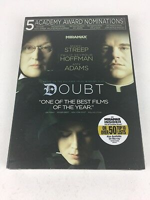 Doubt (DVD, 2009) Brand New With Slip Cover