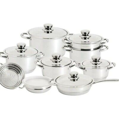 Royal King™ 16pc 12-Element Super Set with High-Quality Stainless Steel
