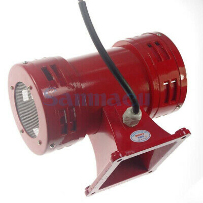 AC220V 120db Motor Driven Air Raid Siren Metal Horn Double Industry Boat Alarm
