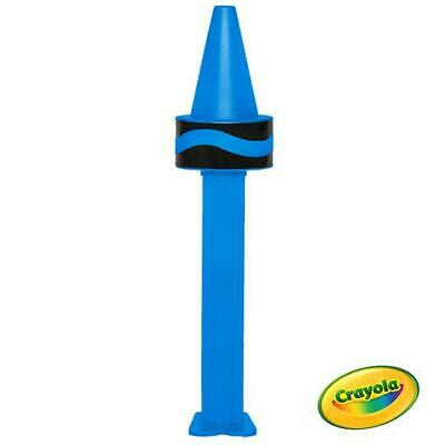 MINT IN BAG CERULEAN BLUE CRAYOLA PEZ NEW FOR 2019