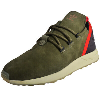 fbd05b249 Adidas Originals ZX Flux ADV X Limited Edition Mens Classic Suede Trainers  Green