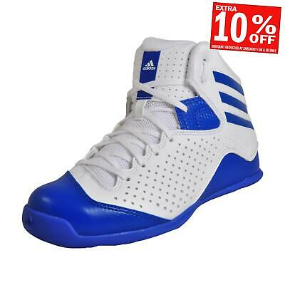 Adidas Next Level Speed 4 Herren Fitness Hof Basketball Turnschuhe Weiß UK 6
