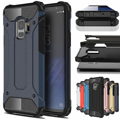 For Samsung Galaxy Note 9 8 S6 S7 S8 S9 Plus Shockproof Hybrid Armor Case Cover