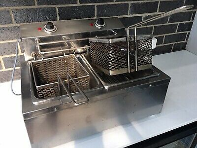 Twin Bench Electric Deep Fryer