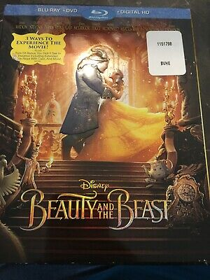 Beauty and the Beast (Blu-Ray/DVD) Combo Emma Watson, Dan Stevens