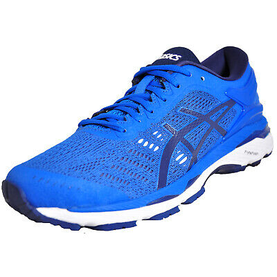 5006cddadc7a Asics Gel-Kayano 24 Mens Premium Running Shoes Fitness Gym Trainers Blue