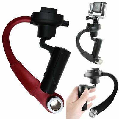 Mini 3-Axis Handheld Gimbal Stabilizer Video Alloy Hand Grip Fr GoPro 2 3+ 4 5 6