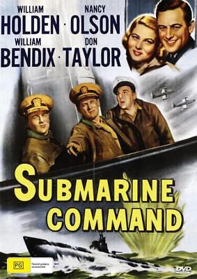Submarine Command - William Holden - Dvd - Free Local Post
