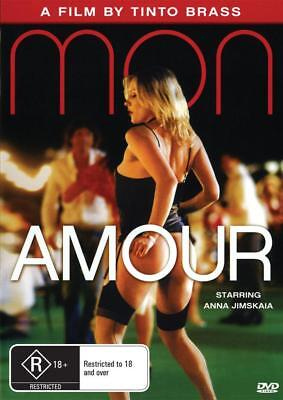Mon Amour - Erotica - Tinto Brass - Dvd - Free Local Post
