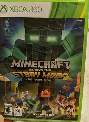 Minecraft Story Mode Season 2 Xbox 360 Season Pass Disc Factory
