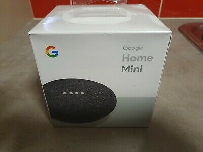 Google Home Mini Smart with Google Assistant - Charcoal (GA00216-AU)