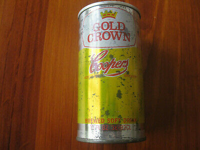 Rare Coopers Gold Crown 13 Fl Oz Shandy/special Beer Can