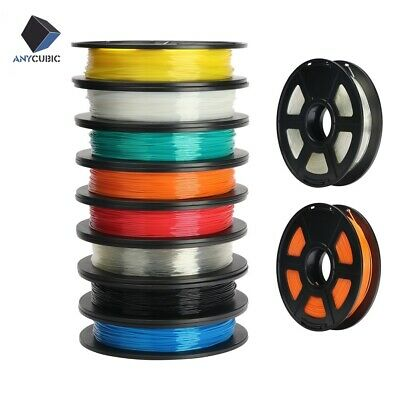 AU ANYCUBIC  TPU Filament 1.75mm 500g Multi-Colors For Chiron MEGA S 3D Printer