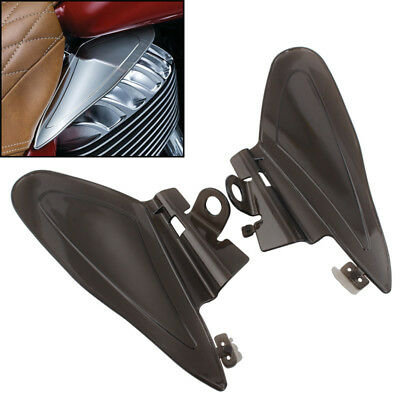 For Indian Chieftain Roadmaster Chief 14-17 Smoke Reflective Saddle Heat Shields