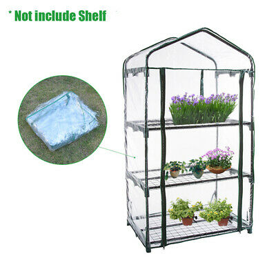 Replacement PVC Cover for Garden Grow House Portable 3 Tier Mini Greenhouse