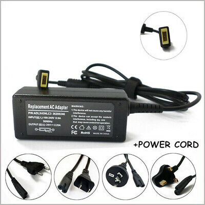 20V 2.25A 45w AC/Standard Adapter Charger For Lenovo ADLX45NLC3 X230s X240s New