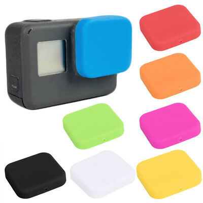 HK- Silicone Lens Protector Cover Cap for GoPro 5 Action Camera Accessories Reli