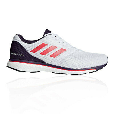 1ed3fa9a3 ADIDAS WOMENS ADIZERO Adios 4 Running Shoes Trainers Sneakers Black Red  White - EUR 111