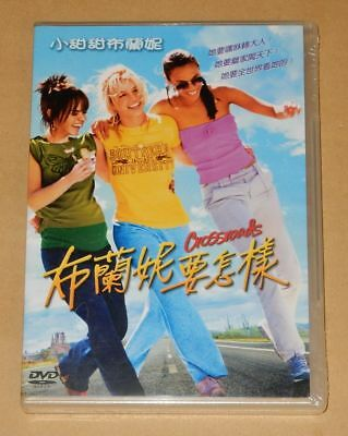 Britney Spears Crossroads Taiwan Ltd DVD RARE New Sealed