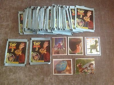 TOY STORY 3 COLLECTOR STICKERS X 60 Packets containing 5 stickers
