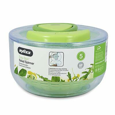 Zyliss Easy Spin Salad Spinner, Green, Large